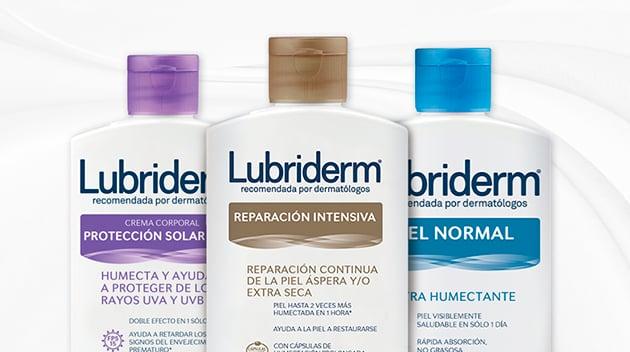LUBRIDERM® productos